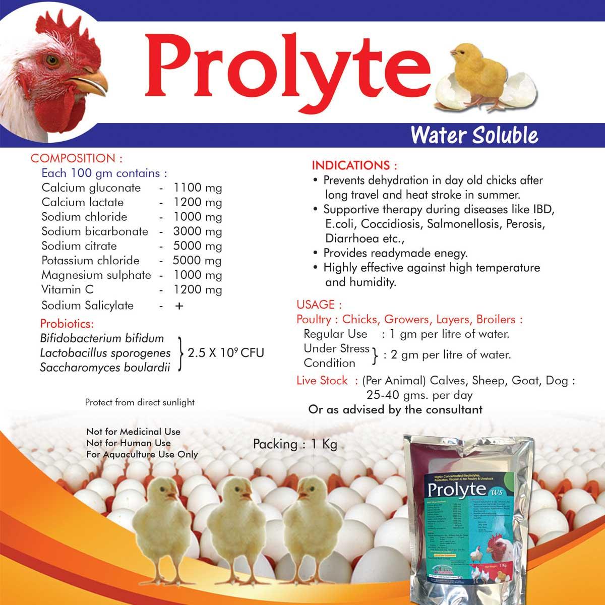 Prolyte Water Soluble - Hi-Tech Pharma